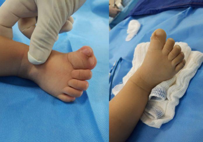 Médico opera bebê sem cobrar honorários e emociona família da criança. - Foto: divulgação