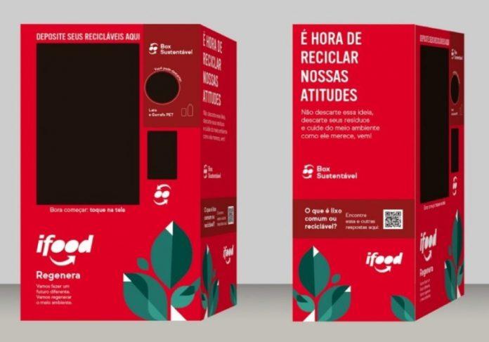 Os pontos de descarte para recicláveis do iFood atingirão diferentes grupos de pessoas. - Foto: divulgação