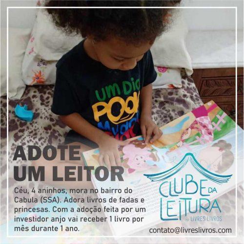 Como adotar um leitor para receber material literário durante 1 ano - Foto: divulgação