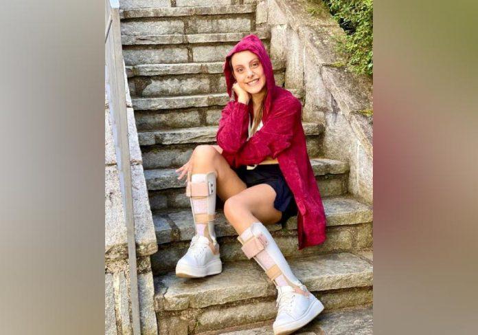 Isabella teve paralisia cerebral ao nascer, superou uma anorexia e depressão. - Foto: reprodução Instagram @bellasavaget