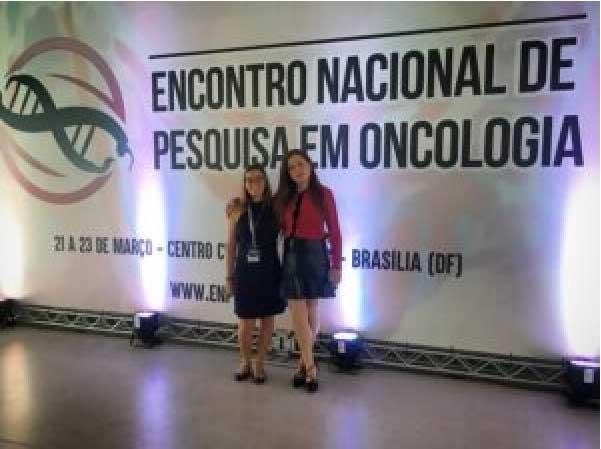 Solange e amiga em congresso - Foto: arquivo pessoal
