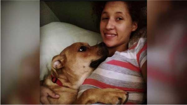 Tutora reconhece cão em site de adoção - Foto: arquivo pessoal
