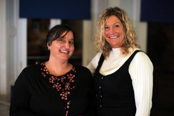 Ann e a meia-irmã Jenni - Foto: reprodução ITV