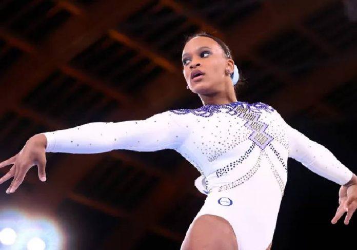 Rebeca tirou notas altíssimas e encantou nas Olimpíadas - Foto: Lindsey Wasson/Reuters
