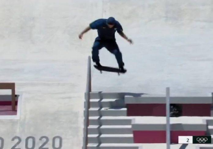 Foi uma final histórica de Kevin nas Olimpíadas de Tóquio - Foto: reprodução / TV Globo
