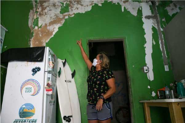 Tita mostra casa a ser reformada - Foto: Diário do Nordeste