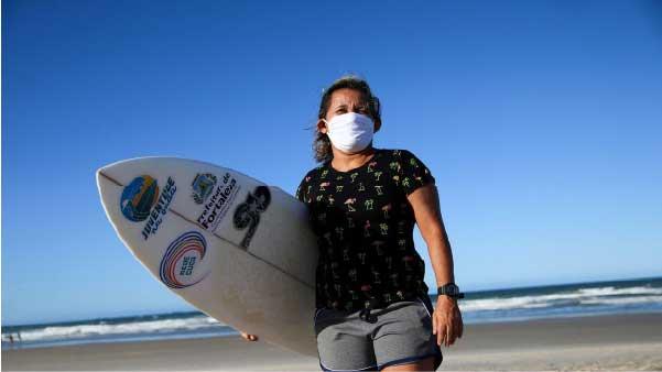 Surfista é referência no esporte nacional - Foto: Diário do Nordeste