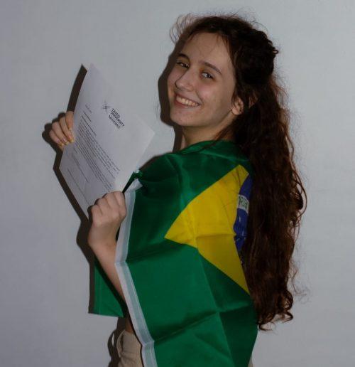 Rhayssa é ex-aluna de escola pública - Foto: arquivo pessoal