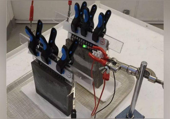 Bateria recarregável de cimento é a primeira do mundo e se torna muito promissora - Foto: reprodução