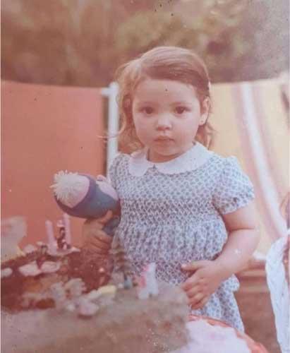Ana quando era pequena - Foto: arquivo pessoal