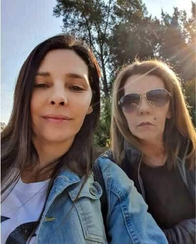 Ana e a mãe, Devora - Foto: arquivo pessoal