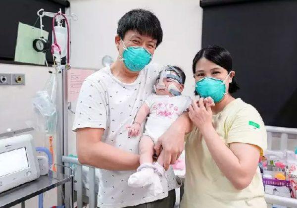 Após 13 meses internada, a garotinha recebeu alta e segue com tratamentos em casa - Foto: arquivo pessoal