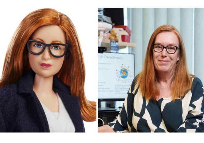 Sarah Gilbert, médica britânica, foi a homenageada da Mattel Foto: Divulgação