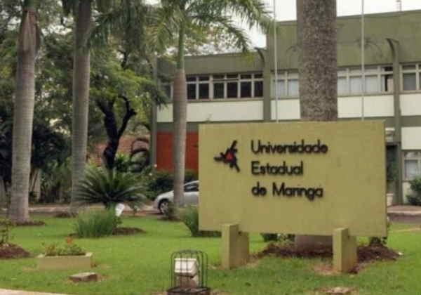 """""""Todos por Um"""" é a campanha da Universidade Estadual de Maringá/PR Foto: UEM"""