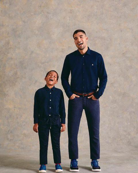 Wallace e o pai, Guilherme Leonel - Foto: reprodução Instagram Carol_nakamura