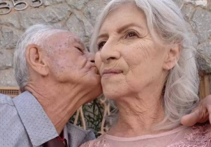Idosos se conheceram com ajuda da neta - Foto: arquivo pessoal