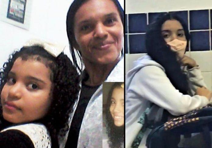 A faxineira Elizete conseguiu bolsa do Educa Mais Brasil para as filhas estudarem em escola particular - Fotos: arquivo pessoal