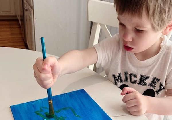 Lawson faz desenhos para arrecadar dinheiro para a caridade Foto: Sara Lundberg