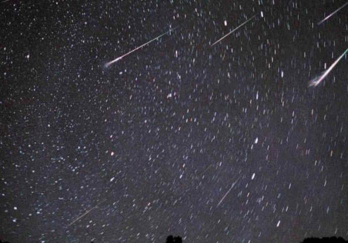 Os meteoros alfa Aurigedeas vem com força no final de agosto Foto: reprodução NASA