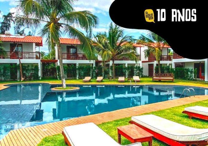 Estadia no Villa Zen Hotel, em Maceió, é um dos 16 prêmios do sorteio de 10 anos do Só Notícia Boa - Foto: divulgação