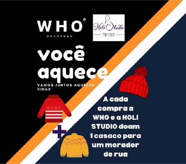 Marca do ator doa casacos a cada venda efetuada - Foto: divulgação