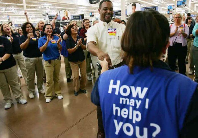 O Walmart que que os funcionários tenham uma vida melhor e cresçam profissionalmente Foto: Divulgação