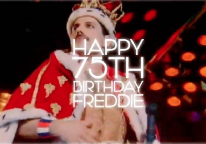 Freddie Mercury completaria 75 anos neste domingo, 5 de setembro e o Queen fez uma homenagem - Foto: reprodução / Youtube