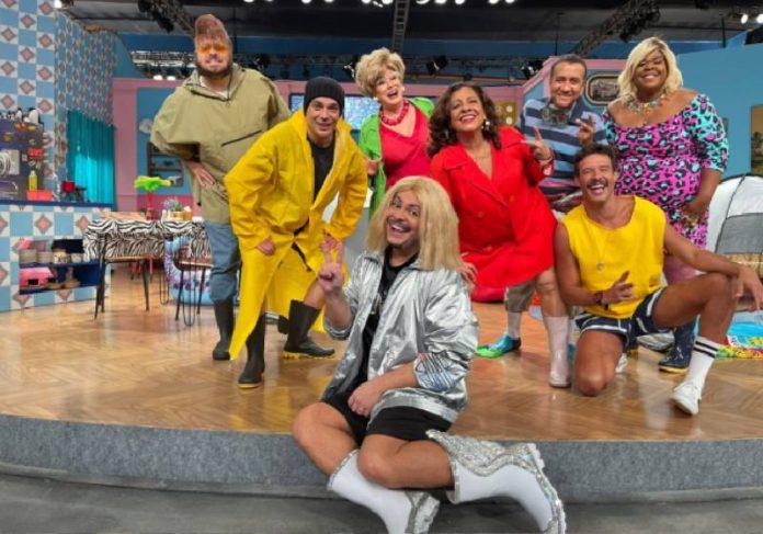 Nancy People já começou a gravar a 9ª temporada do humorístico Vai Que Cola, no Multishow - Foto: reprodução / Instagram