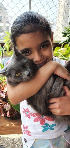 Ela sonha em ser veterinária - Foto: arquivo digital