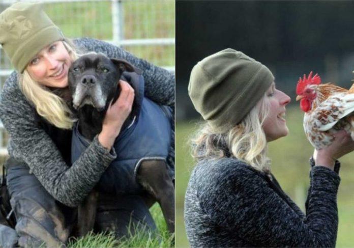 Alexis resolveu abrir o asilo e cuidar de animais com doenças terminais após perder a cachorrinha dela - Foto: arquivo pessoal