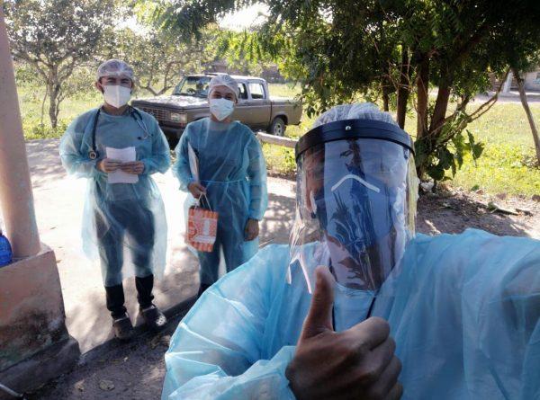 Agentes promovem conscientização - Foto: Divulgação Prefeitura de Barroquinha