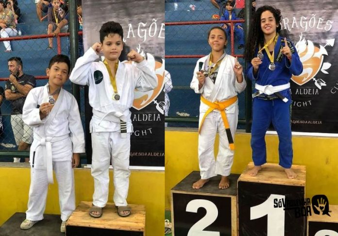Crianças de instituto apoiado por vaquinha vencem campeonato local de Jiu-Jitsu - Foto: reprodução @instituto_arcanjogabriel