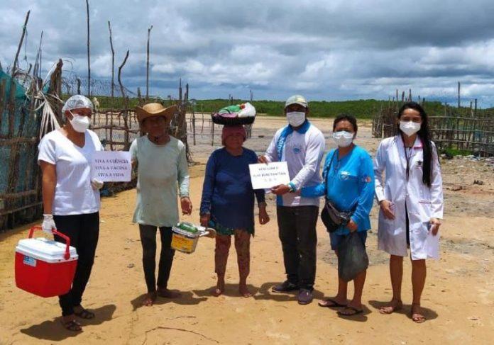 Os números apontam redução de mortes por covid-19 no interior do Ceará - Foto: Divulgação Prefeitura de Barroquinha