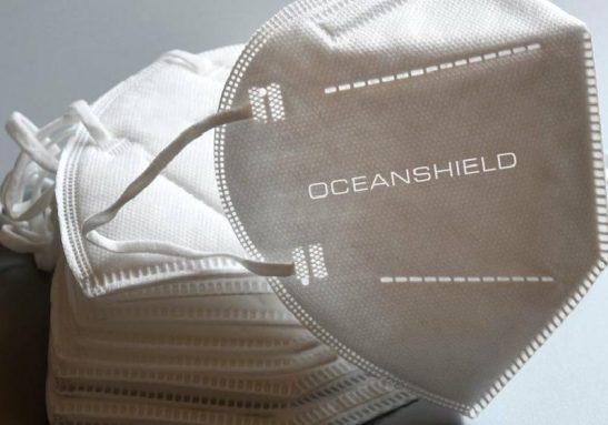 A empresa fez máscaras 100% de plantas após ver os danos dos PPEs descartados nos oceanos desde o início da pandemia - Foto: divulgação