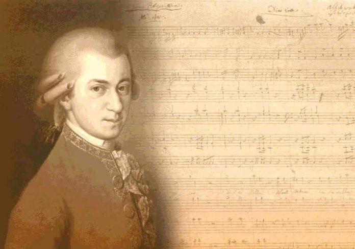 Os cientistas testaram uma das sonatas de Mozart, mas pretendem fazer o mesmo com outras composições do gênio austríaco Foto: Pixabay
