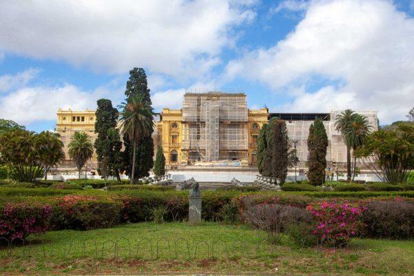 Museu em reforma - Foto: Marcos Santos/USP Imagens