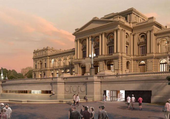 A previsão para reabertura do Museu do Ipiranga é em setembro de 2022 - Foto: Marcos Santos/USP Imagens