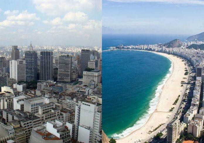 São Paulo e Rio de Janeiro estão entre as melhores cidades para se viver no mundo - Fotos: SP: Rodrigo Soldon / e RJ: bisonlux / WikiCommons