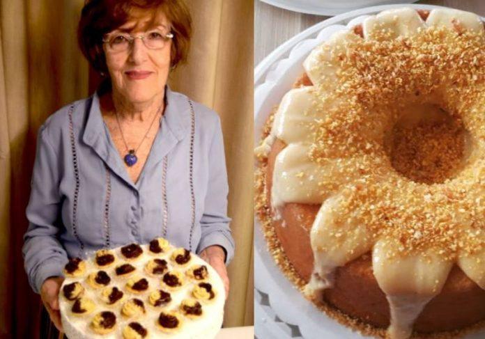 A professora Lina tem um negócio de doces e salgados aos 83 anos e não quer ficar parada - Fotos: arquivo pessoal