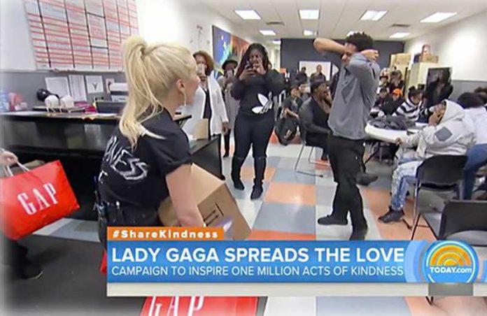 Lady Gaga - Foto: reprodução / Youtube/ Global Citizen