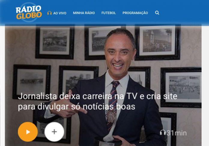 Foto: reprodução / Rádio Globo