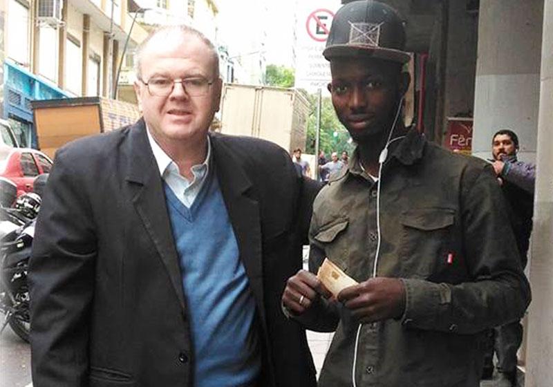 Roberto e Rarin - Foto: reprodução / Facebook