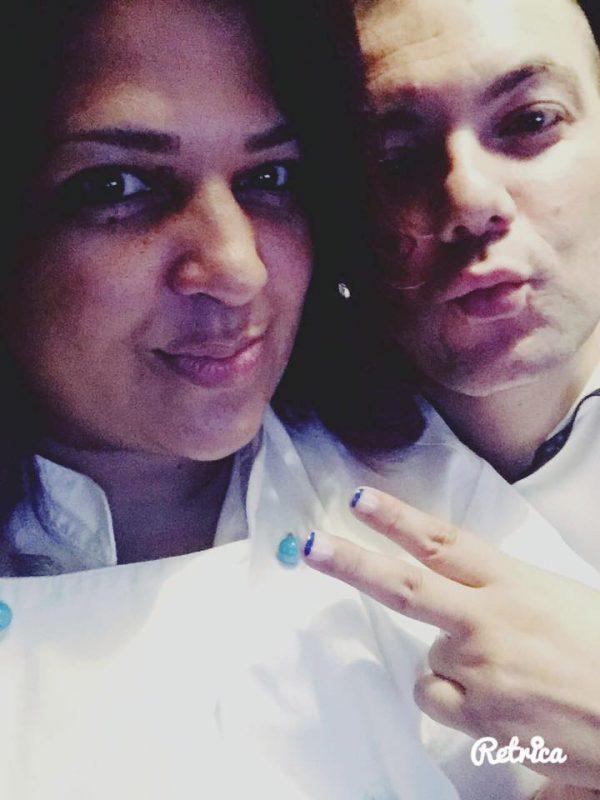 Liliam e o marido italiano - Foto: reprodução / Facebook
