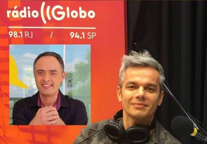 Rinaldo de Oliveira e Otaviano Costa - Foto montagem: divulgação Rádio Globo e SNB