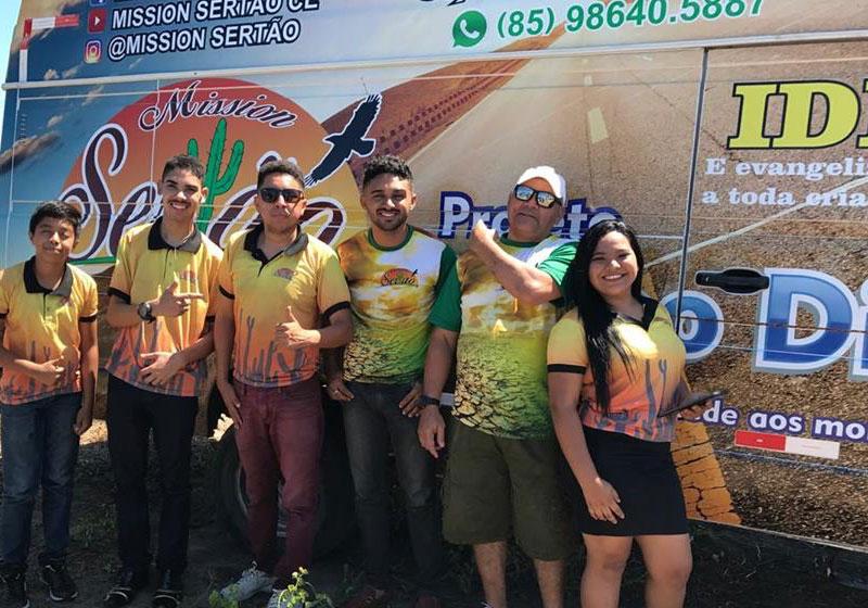 Equipe do Projeto Banho Digno - Foto: Divulgação