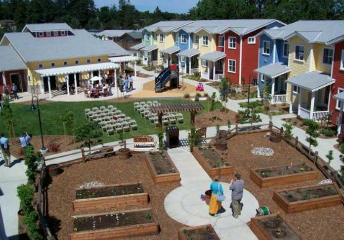 Exemplo de Cohousing - Foto: divulgação Foto: Adunicamp Exemplo de Cohousing