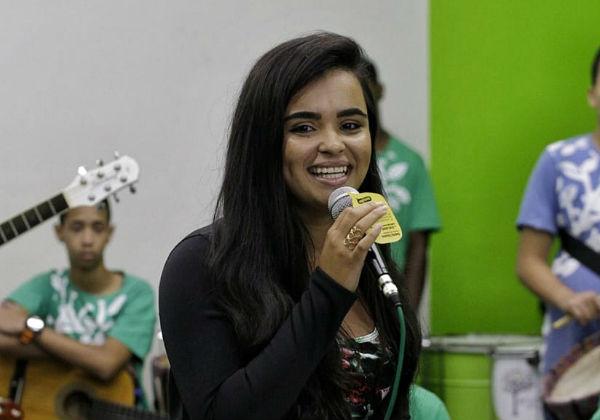 A presidente do Árvore da Vida que também já foi aluna Foto: Leo Lara/FCA