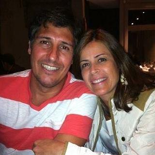 José Afonso com a esposa - Foto: reprodução autorizada / Facebook