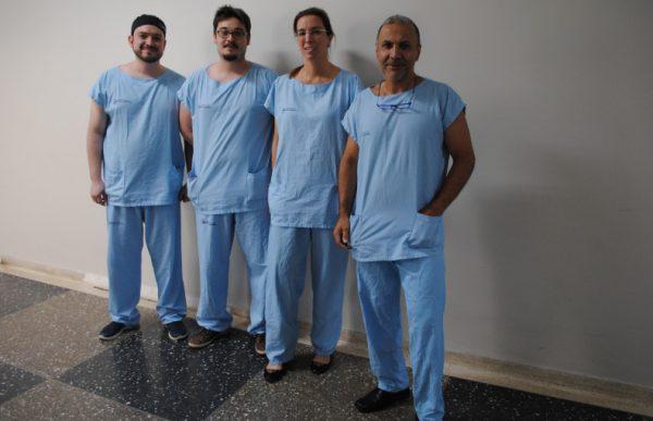 Equipe que fez a cirurgia - Foto: divulgação