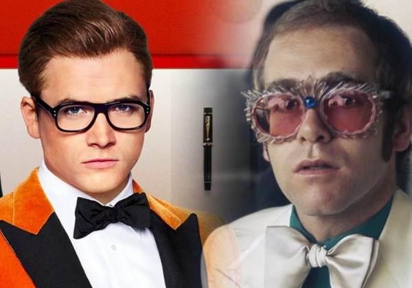 O ator Taron Egerton  como Elton John Foto: divulgação
